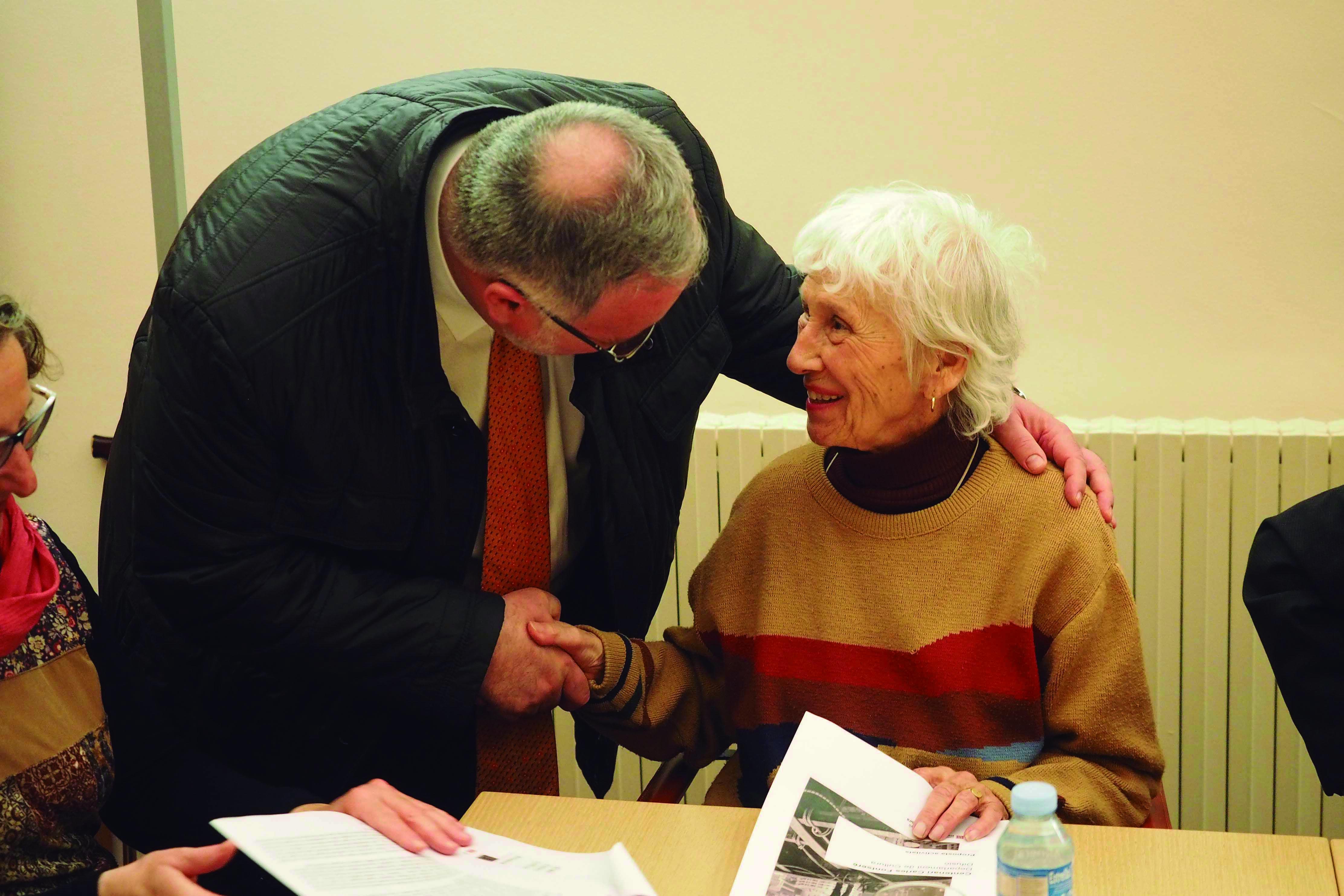 Reunió de treball del Centenari de Carles Fontserè als Serveis Territorials de Cultura a Girona. Foto: Pere Duran