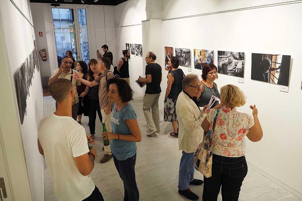 Inauguració exposició Mirades a Fontserè a l'Escola Internacional de Fotografia Grisart de Barcelona. PERE DURAN / NORD MEDIA
