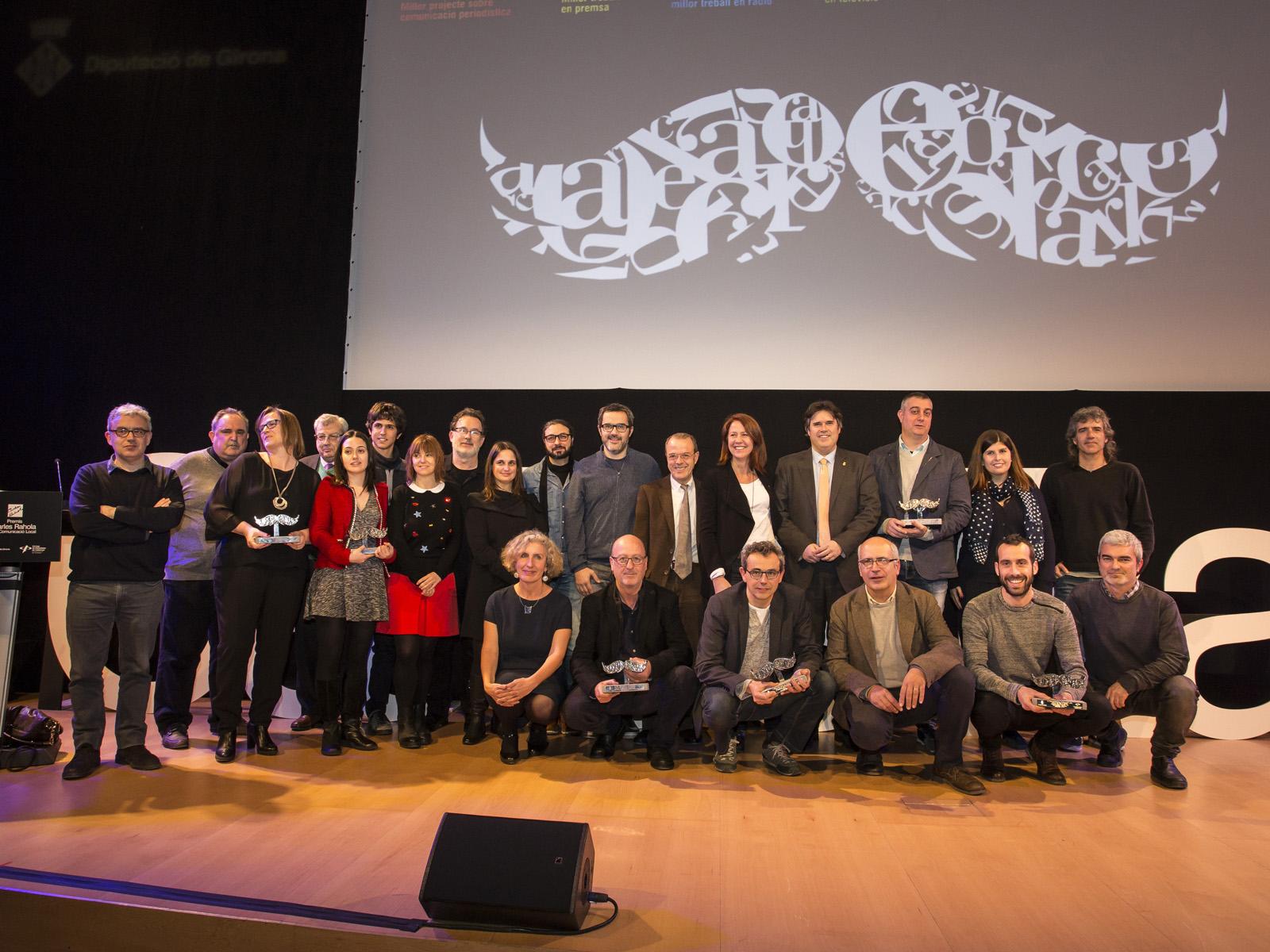 Entrega dels Premis Carles Rahola 2017 a l,Auditori de Girona